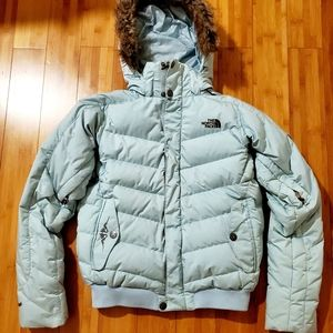 North Face 600 recco avalanche puffer jacket